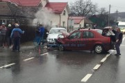 FOTO - Accident teribil la Bonțida