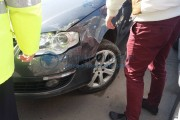 Șofer beat, accident pe un drum din Cluj