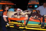 Trei oameni răniți grav într-un accident petrecut la Jucu din cauza unui șofer inconștient