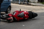 Motociclist accidentat pe strada Clinicilor