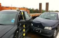 VIDEO - Accident grav la Jucu, femeie încarcerată