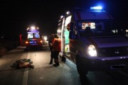 Biciclist beat, accidentat grav de o mașină