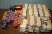 Țigări de contrabandă confiscate la Turda