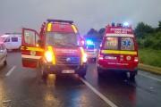 Un șofer din Vaslui a provocat un grav accident rutier la Apahida. Cinci persoane au fost rănite