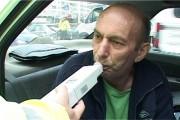 Șofer beat depistat de polițiști în trafic