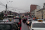 Carambol pe Calea Turzii. Cinci mașini au fost avariate și o persoană a ajuns la spital
