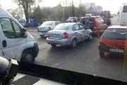 FOTO - Accident în lanţ pe Calea Turzii! O persoană a ajuns la spital