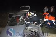 Accident la Gherla! Un tânăr de 19 ani şi-a văzut moartea cu ochii şi a ajuns la spital grav rănit