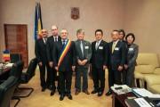 """FOTO - Boc, """"curtat"""" de japonezi! Oficialii vor înfrăţirea Clujului cu Matsuyama"""