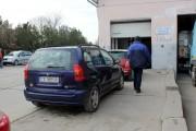 Mașină furată din Franța, găsită în județul Cluj cu documente false