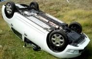 Inexplicabil s-a răsturnat cu maşina la Gârbău şi a ajuns la spital în stare critică