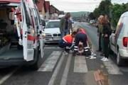 Între viață și moarte, la spital, după ce a dat un autoturism peste el