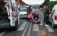 Femeie spulberată de o mașină la Florești, pe trecerea de pietoni