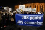 UPDATE - FOTO/VIDEO-Peste 10.000 de clujeni au protestat împotriva lui Ponta în Piața Unirii