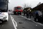 VIDEO-Autocar FANY implicat într-un grav accident, la Livada! Șoferul autocarului a pus în PERICOL viața a peste 20 de persoane