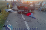FOTO -IMPACT NIMICITOR: Accident HORROR pe centura de la Apahida! Două persoane au murit pe loc