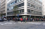 FOTO - Cozi interminabile la secţiile de votare din Europa!