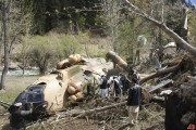 VIDEO - TRAGEDIE - Un elicopter militar de la Câmpia Turzii s-a PRĂBUȘIT! 8 militari au MURIT!