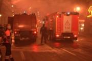 UPDATE - FOTO- Seara de Crăciun: Apartament cuprins de flăcări în cartierul Mănăștur