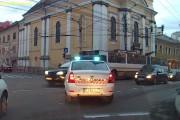 Amenzi date în zona Pieței Mihai Viteazu de Poliția Locală