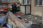FOTO-VIDEO - Tragedie la locul de muncă! Un tânăr clujean a căzut de la etajul trei și a murit