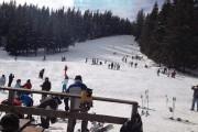 S-a deschis sezonul de schiat la Băișoara. Cât măsoară stratul de zăpadă