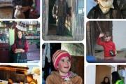 Familii fericite în prag de Crăciun! 70  de voluntari au adus zâmbete pe chipul celor nevoiași din Munții Apuseni