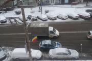 FOTO - Primăria Cluj-Napoca își bate joc de Mănăștureni! Nu au curățat drumul