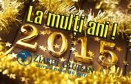 Echipa ZiarulClujean.ro vă dorește un An Nou plin de sănătate și împliniri