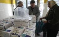 Începe distribuirea de alimente de bază în cadrul programului european de furnizare de alimente persoanelor defavorizate