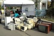 Cluj-Napoca: Acțiune de colectare a deșeurilor de echipamente electrice și electronice (DEEE)