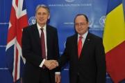 Consultări ale ministrului Bogdan Aurescu cu omologul său britanic, Philip Hammond