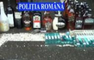 Ce transporta un agent de distribuție i-a surprins și pe polițiștii din Florești