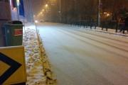 VIDEO - Cluj-Napoca: Străzi albe ca-n povești, utilaje-n lucru nu găsești