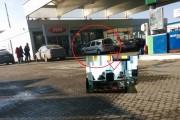 FOTO-Îi doare la bască! La cafea în OMV, pe bani publici și în timpul serviciului, așa o duc polițiștii din Cluj