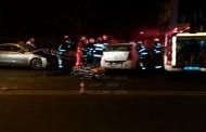 FOTO/VIDEO - Un interlop clujean, beat, a provocat un accident grav pe Calea Turzii și a fugit de la locul faptei. Un taximetrist a ajuns în stare critică la spital