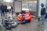 FOTO - Motociclist accidentat grav lângă Cluj Arena