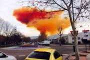 Teroare în Spania! Un nor toxic a acoperit un oraș întreg  în urma unei explozii produse la o uzină chimică