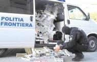 Poliția Alba a făcut percheziții în județul Cluj la contrabandiștii de țigări