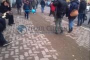 FOTO - La trotuarele de pe Memorandumului se lucrează și nu prea! Clujenii sunt înconjurați de mizerie în plin centrul orașului