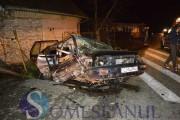 VIDEO - Accident teribil pe o șosea din Cluj. Trei copilași și mama lor au ajuns la spital din cauza unui șofer rupt de beat