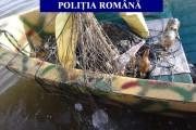 Hoții de pește din Gherla, prinși la pescuit cu plasele