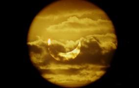 Eclipsă totală de Lună, vizibilă și din România
