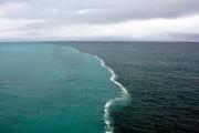 VIDEO - Două oceane se întâlnesc, dar nu se amestecă! Fenomentul care îți taie respirația și se vede cu ochiul liber