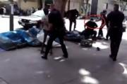 VIDEO NECENZURAT - Om al străzii, împușcat cu sânge rece de polițiști