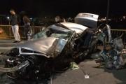 FOTO - Un tânăr a murit și altul a fost grav rănit într-un accident petrecut la podul Ira