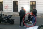 VIDEO - Gestul INCREDIBIL  făcut de un motociclist la Cluj