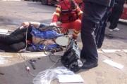 Clujean accidentat grav de un autoturism pe Calea Turzii