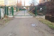 O primă reușită! Accesul spre Parcul Rozelor a fost redat publicului după demolarea porții