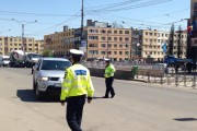 Zeci de amenzi aplicate și mai multe permise ridicate de polițiștii din Cluj într-o singură zi